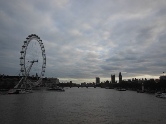 """""""Will you let me romanticise the beauty of the London skies"""" - Jamie Cullum"""