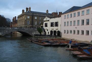 Silver St Bridge over the River Cam, Cambridge