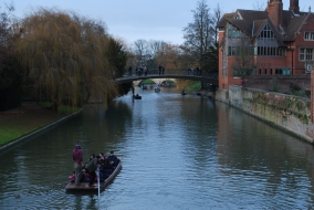 punters on the River Cam, Cambridge