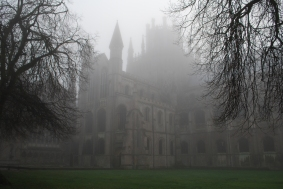 spooky Ely Cathedral