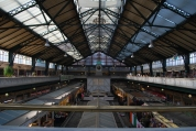 Cardiff Market, top floor