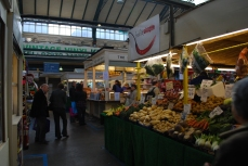 Cardiff Market, bottom floor