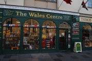 The Wales Centre (can you pronounce the name on the white board?)