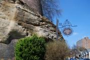 the oldest inn in England from 1189, Nottingham