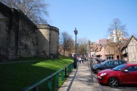 Along Castle Road, Nottingham