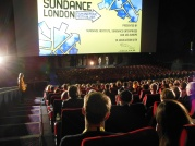 """Q&A with Jordan Vogt-Roberts after his """"Kings of Summer"""". John Cooper, the Director of Sundance Film Festival hosted that session."""