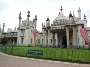 The Royal Pavilion entry, Brighton
