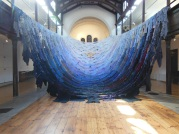 The Blue Route by Kaarina Kaikkonen, Fabrica Gallery, Brighton