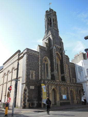 Fabrica Gallery and Trinity Church, Brighton