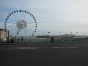 The Brighton Wheel and Pier from Marine Parade (where Audio is)
