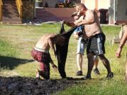 very muddy afternoon games
