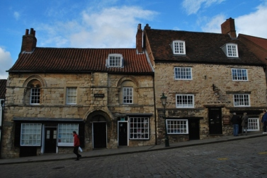 Jew's House and Jews' Court on The Strait, Lincoln. It's HQs of Society for Lincolnshire History & Archaeology now.