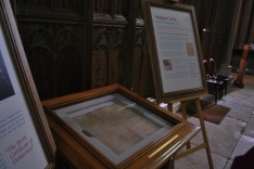 Magna Carta from 1215, Lincoln Cathedral