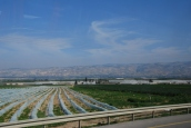 fertile Jordan River Valley