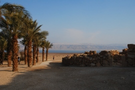 Qumran National Park by the Dead Sea